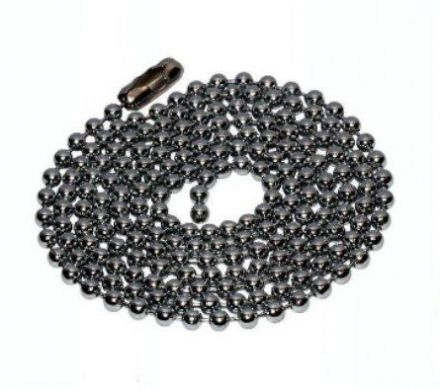 WML Chrome 100cm Extension Chain